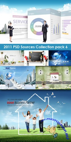2011 PSD Sources Collection Pack 6