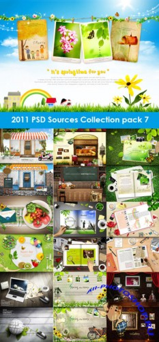 2011 PSD Sources Collection Pack 7