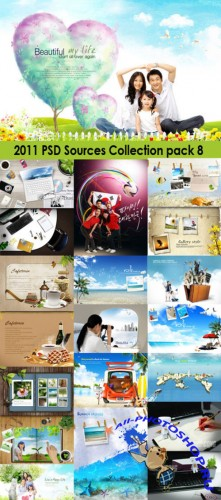 2011 PSD Sources Collection Pack 8