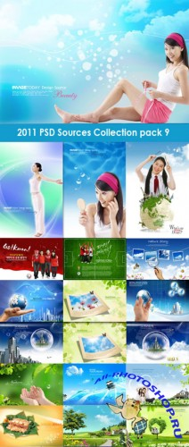 2011 PSD Sources Collection Pack 9