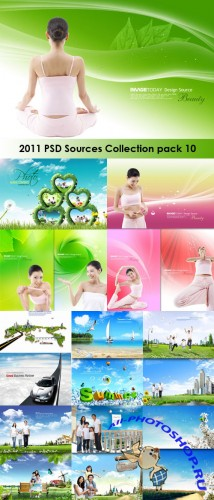 2011 PSD Sources Collection Pack 10