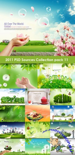 2011 PSD Sources Collection Pack 11