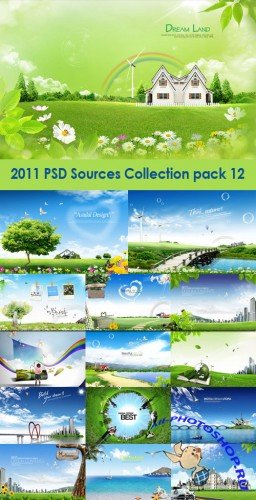 2011 PSD Sources Collection Pack 12
