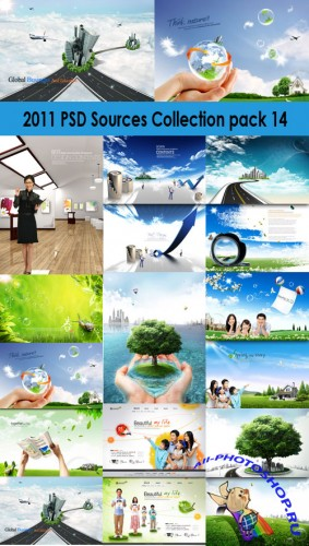 2011 PSD Sources Collection Pack 14