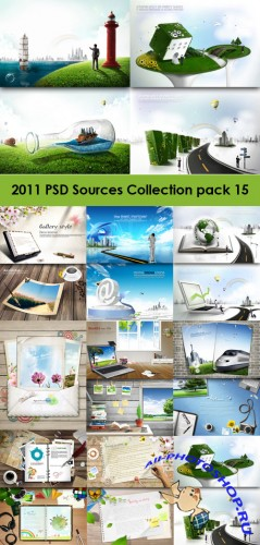 2011 PSD Sources Collection Pack 15