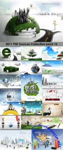 2011 PSD Sources Collection Pack 16