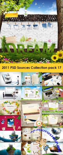 2011 PSD Sources Collection Pack 17