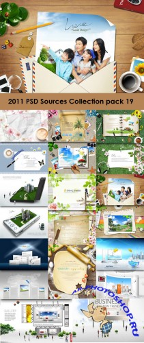 2011 PSD Sources Collection Pack 19