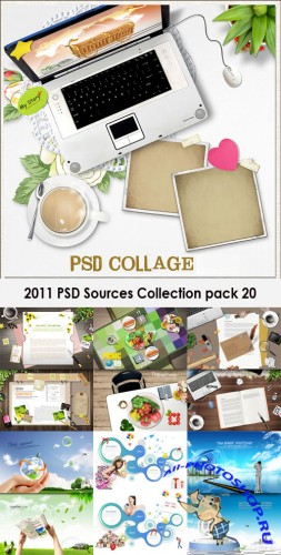2011 PSD Sources Collection Pack 20