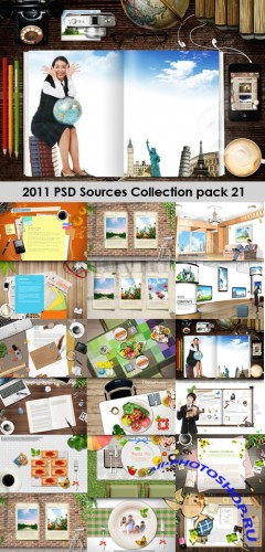 2011 PSD Sources Collection Pack 21