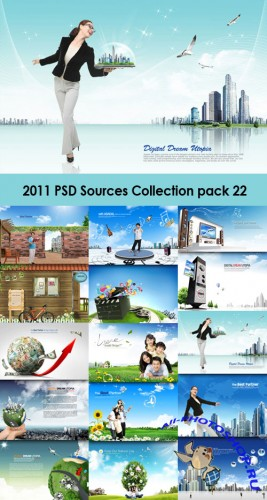 2011 PSD Sources Collection Pack 22