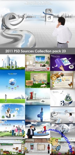 2011 PSD Sources Collection Pack 23