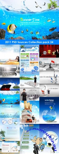 2011 PSD Sources Collection Pack 24