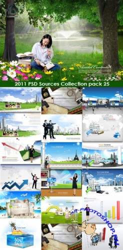 2011 PSD Sources Collection Pack 25