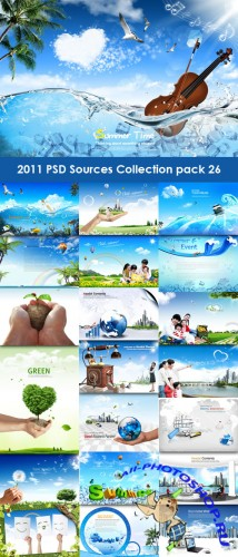 2011 PSD Sources Collection Pack 26