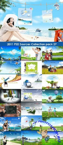 2011 PSD Sources Collection Pack 27
