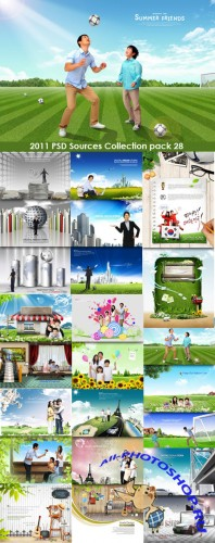 2011 PSD Sources Collection Pack 28