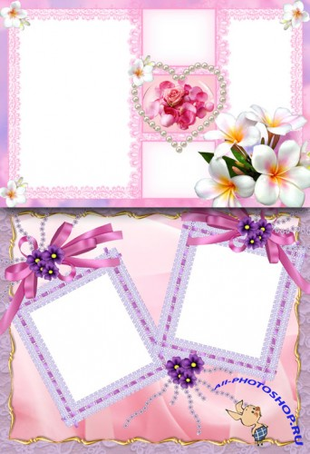 Photo Frame - Flowers tender