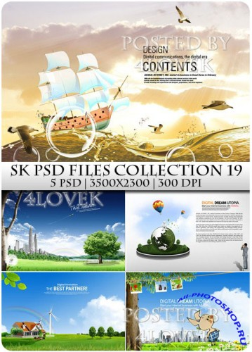 SK PSD files Collection 19