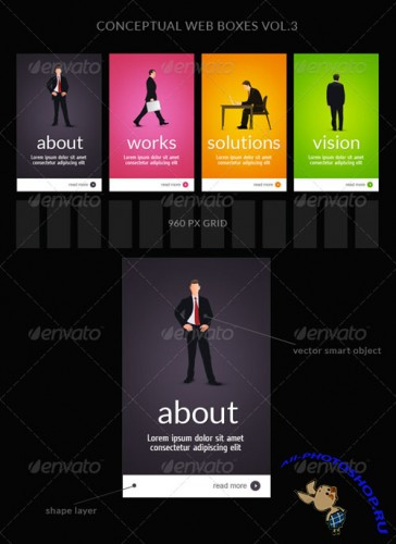 GraphicRiver - Web Box or Banner Templates 3