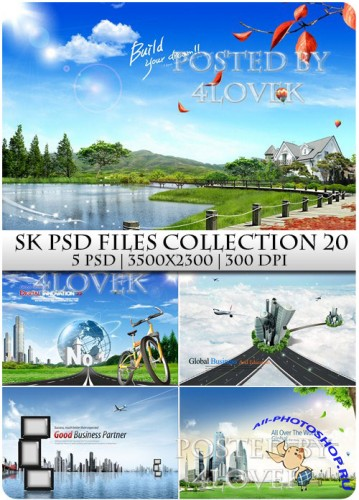 SK PSD files Collection 20