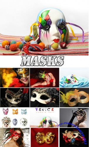 Stock photo - Masks