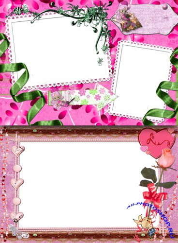Photo Frame - Color Barbie