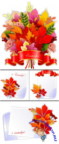 September - Vector Templates