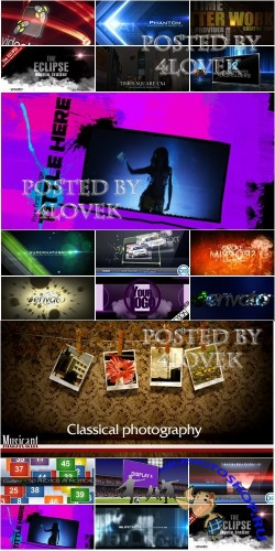 VideoHive Projects Pack 12