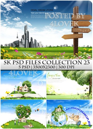 SK PSD files Collection 23