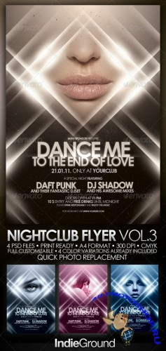 GraphicRiver - Nightclub Flyer/Poster Vol. 3