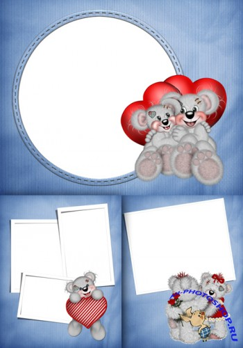 Photo Frame - Teddy Bears