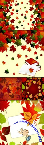 Autumn Vector Backgrounds #1