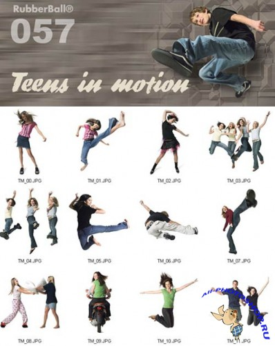 ��������� ����������� ��   RubberBall (057 - Teens In Motion)