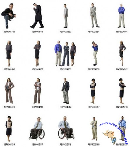 ��������� ����������� �� RubberBall (Adult Silhouettes: Business)