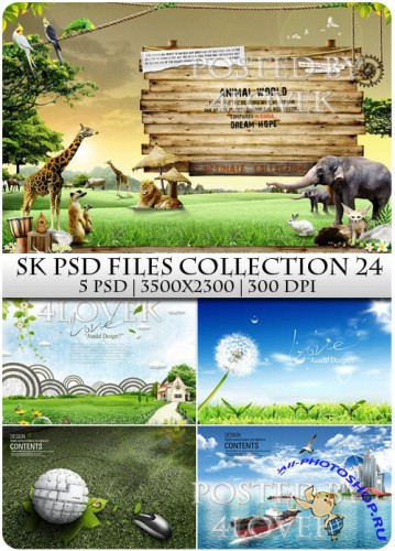 SK PSD files Collection 24
