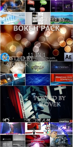 VideoHive Projects Pack 13