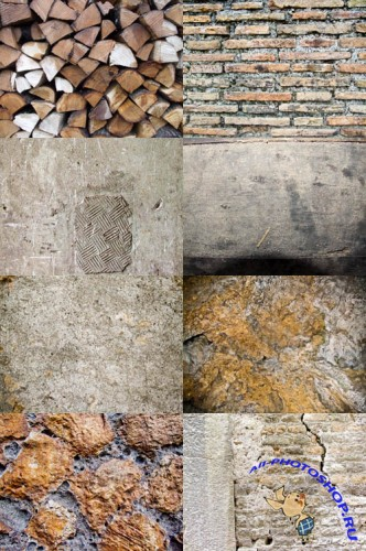 Stone wall texture collection 2