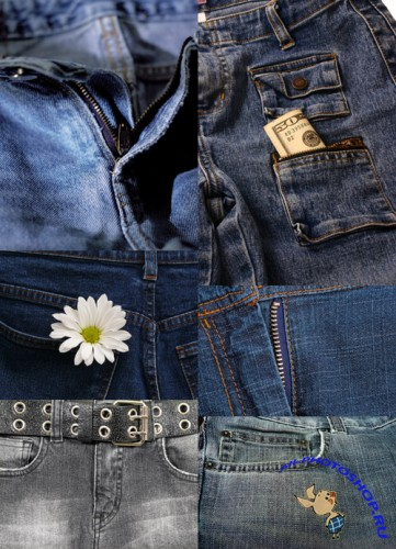 Set denim texture # 4