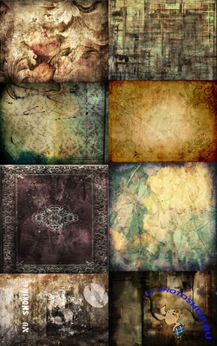 A set of grungy textures # 2
