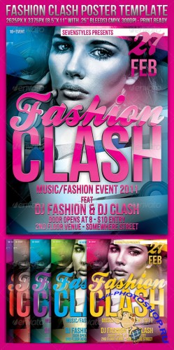 GraphicRiver - Fashion Clash Template