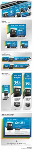GraphicRiver - Essential Web Marketing Set