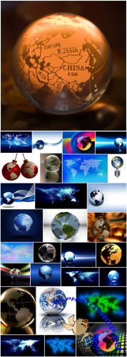 World - Earth Cliparts