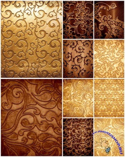 Golden Backgrounds - Gold, textures, backgrounds