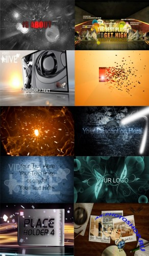 VideoHive After Effect Projects Updated Pack 02