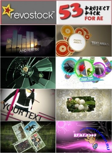 RevoStock - 53 Project Pack For After Effects