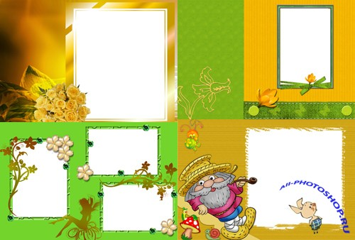 Photo Frame - Spring Design
