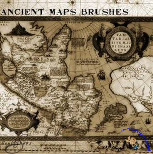 Brushes for Photoshop -  and Maps