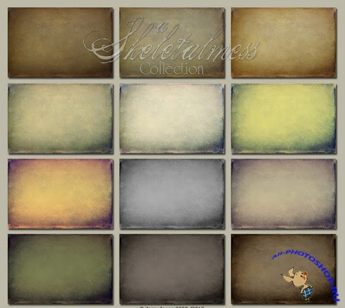 Aged Canvas Texture Set