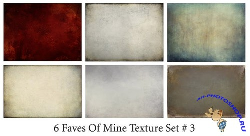 6 Faves of Mine Texture Set # 3